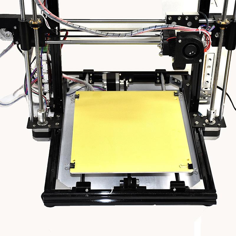 HICTOP Black Aluminum frame 3d printer prusa i3 3dp-11 reprap prusa i3 DIY desktop 3d printing machine set