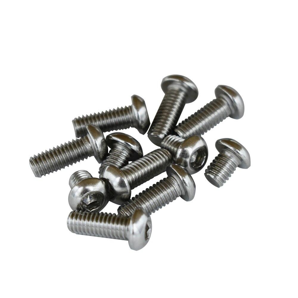 M6 X 16mm Hexagonal Tornillos de máquina pernos dentado negro con bridas cabeza phillips ranura