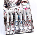 Eyeliner Makeup 24pcs Black Colours Liquid Eyeliner Eyeliner Pencil Waterproof Entice Cheetah Liquid Eye Liner LM1978