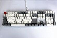Пустой Толстые PBT 108 Keycap Ретро Белый и Серый OEM Высоко Cherry MX выключатели Колпачки для Keycool/NOPPOO/душка/Filco Клавиатуры Keycap