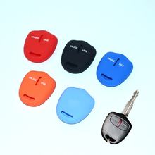Car Key Case Car Styling Intelligent Silicone Key Cover For Mitsubishi ASX outlander colt LANCER Grandis Pajero 2 buttons