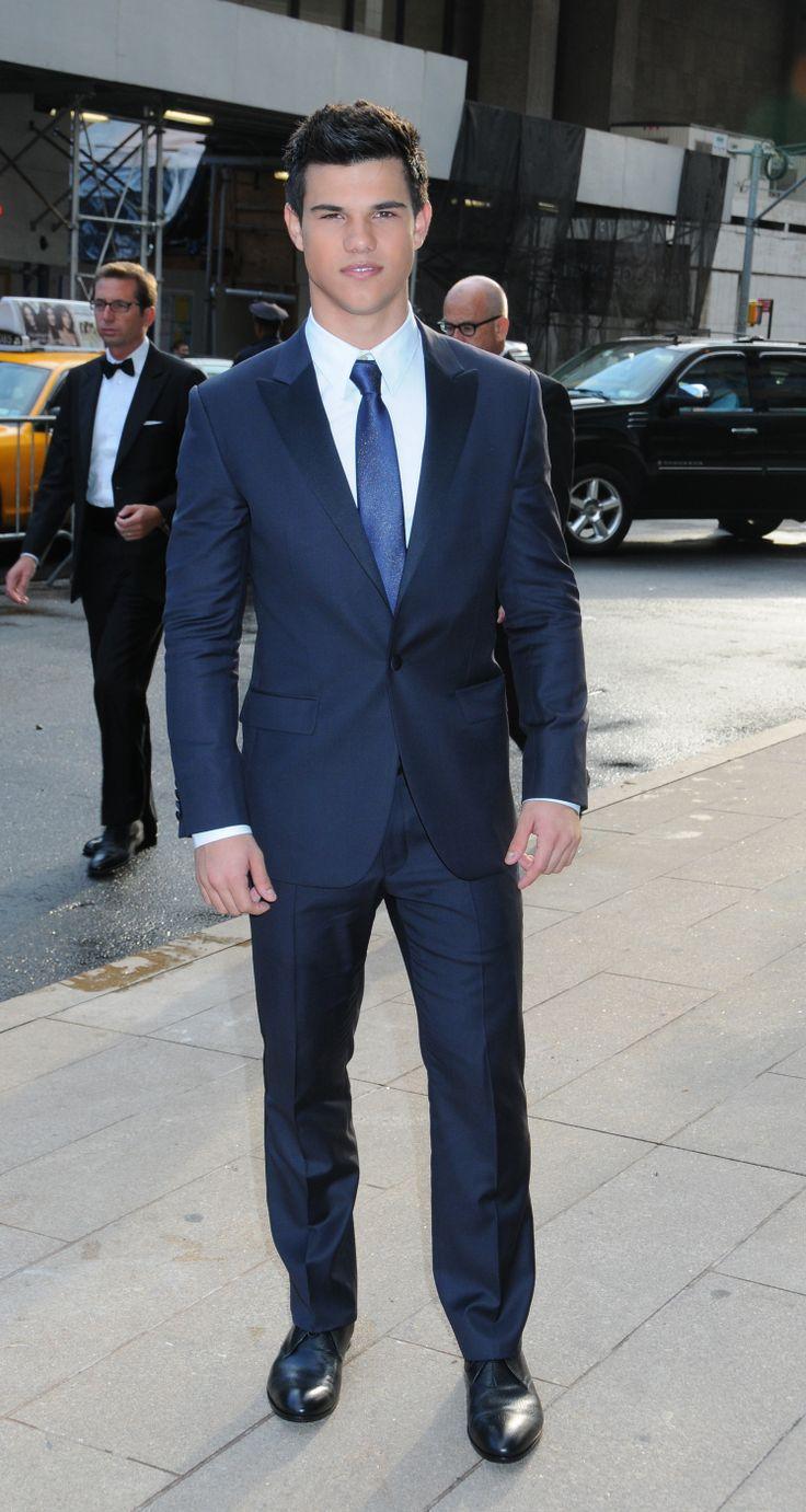 Jacket Pants Brilliant Quality Blue Business Men's Suits Coat with ...