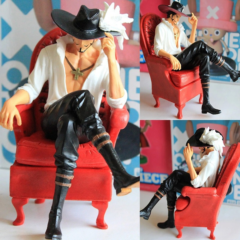 One Piece Japanese Anime Hawkeye Mi Huoke Onepiece New World Action Figure Toys 15cm PVC Model Brinquedos