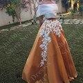 Sparkly Pescoço Barco Vestido de Baile Vestidos de baile 2 Peça Longo 2016 Mulheres Formal Lace Vestidos de Noite Elegante da Festa De Longo vestidos