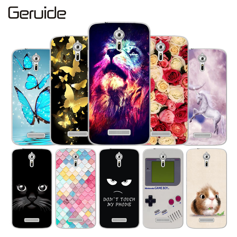 Geruide TPU Case For ACER Liquid Zest PLUS Z628 Cover, Soft Silicone Back Cover for Acer Z 628 Phone