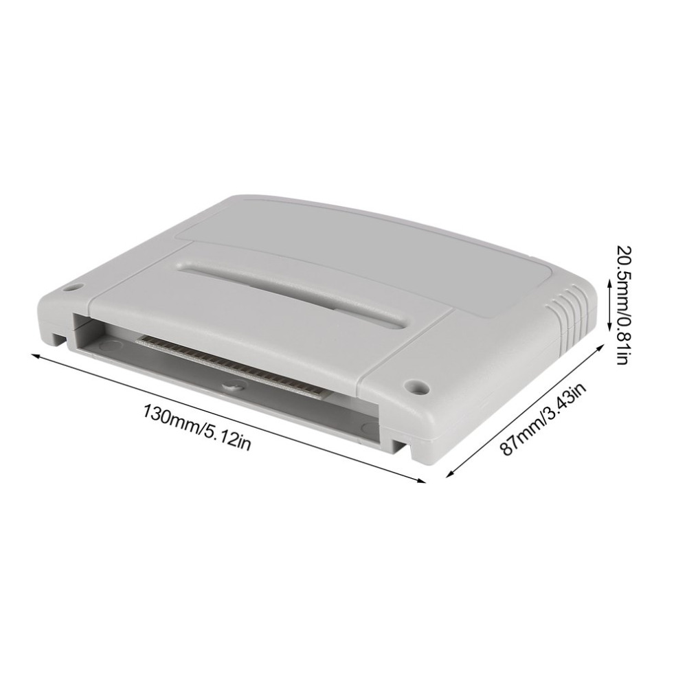 Onleny 16 peu Super Jamais Flash Jeu Lecteur Flash Cartouche Jeu Vidéo Console Jeu Flash Carte Plug & Play pour SNES Jeu Carte - 6