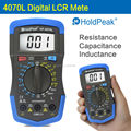 HoldPeak Digital LCR Meter Resistance Capacitance Inductance hFE Test Back Light Digital Multimeter 4070L