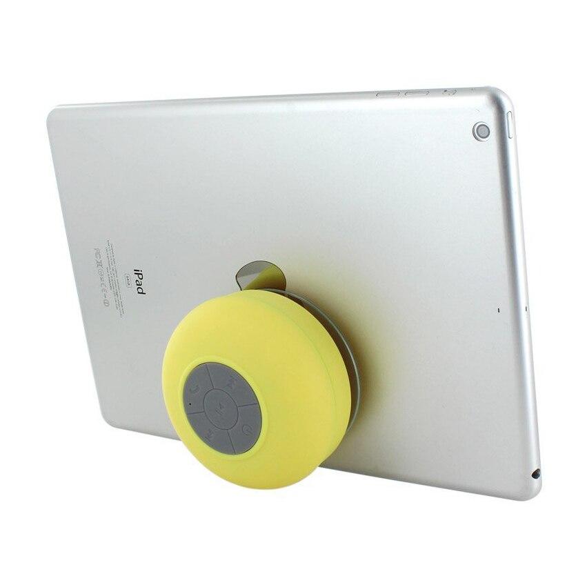 Wireless Hand-free Bluetooth Waterproof Shower Speaker/Microphone