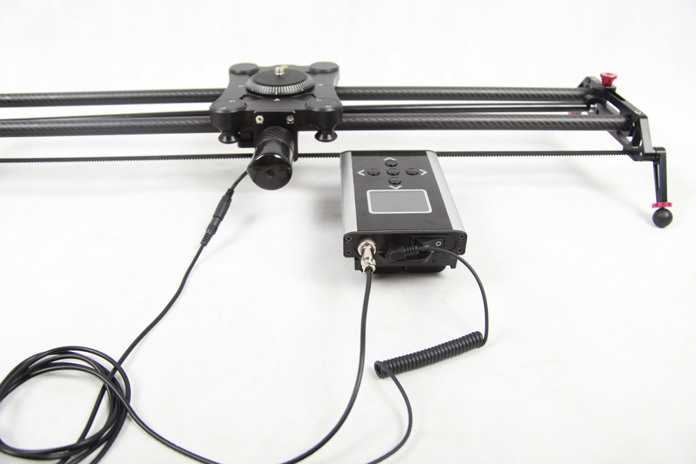 Andoer gp 80qd 80cm carbon fiber motorized camera track Motorized video slider