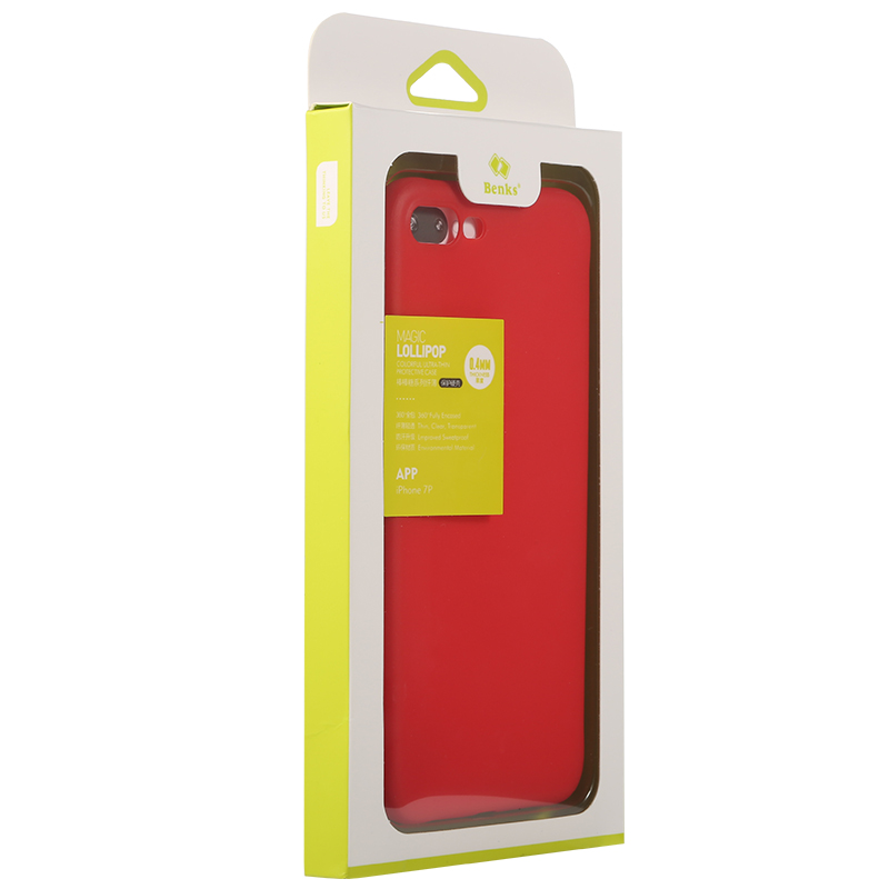 082c98cad0174 Benks Magic Pudding for iPhone 7  7 Plus Lucky Red Case Cover Ultra Thin  Soft TPU Phone Case for iPhone7 8 Cover Shockproof-in Fitted Cases from  Cellphones ...