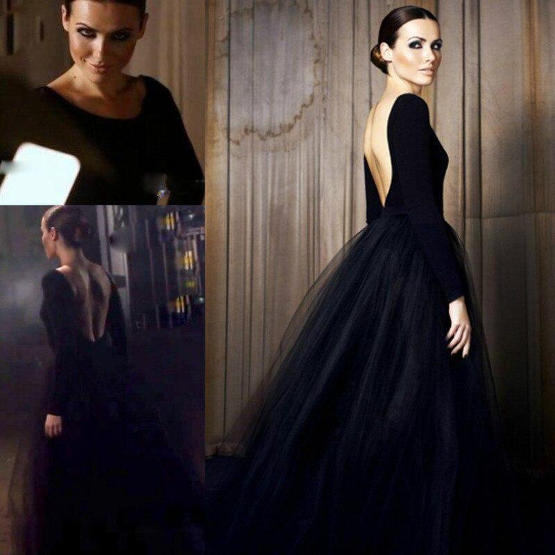 Платья вечерние готические