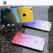 BASEUS Марка Ослепительно Выделяющийся Великолепный Цвет Задняя крышка Для iPhone 6 s 6/6 s Плюс 4.7 и 5.5 дюймов, с Розничной Упаковке