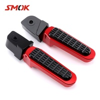 SMOK Motorcycle Accessories CNC Aluminum Alloy Rear Sets Rearset Footrest Foot Rest Pegs For Honda Forza 300 2018