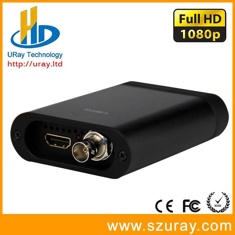 Full HD 1080 P 60fps SD/HD/3G SDI + HDMI, SDI + HDMI Video Audio Grabber, HD Game Capture Dongle Für Live-Streaming