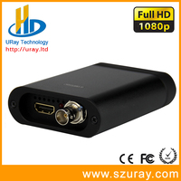 Full HD 1080P 60fps SD /HD /3G SDI + HDMI Capture Card,SDI + HDMI Video Audio Grabber, HD Game Capture Dongle For Live Streaming