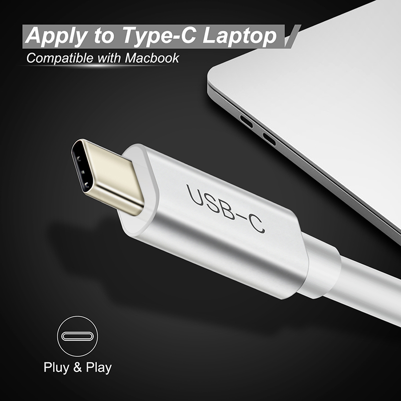 Cabletime USB C Ethernet Adapter USB typeC to RJ45 LanNetwork Card USB C 3.1 Type c Hub for Samsung Galaxy S9/S8/Note9 Mac N133