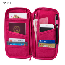 SYTH Multifunction Credit Card and Passport Holders of High Quality Oxford Cloth Large Capacity Waterproof Organizer for Travel