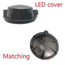 1 piece led dust cover hid  caps Sealing headlight Extension cap Bulb overhaul Heightening rear for Octavia