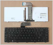 NEW FOR Dell Vostro 1445 1450 1540 1550 2420 2520 3350 3450 3460 3550 3555 V1440 US Laptop Keyboard With backlight