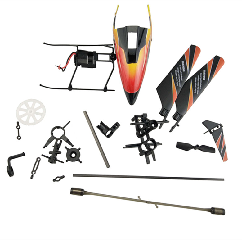 WLtoys V911 2.4G 4Ch RC Helicopter Spare Parts Accessories Set replacemets V911-001 18pcs/set free shipping motul 8100 x cess 5w40
