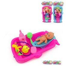 Reborn одежда для кукол детские игрушки детская ванночка игрушки моделирование куклы играть дома для Куклы Барби