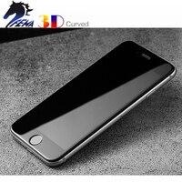 FEMA 전체 크기 커버 iPhone7 iPhone8 강화 유리 3D 곡선