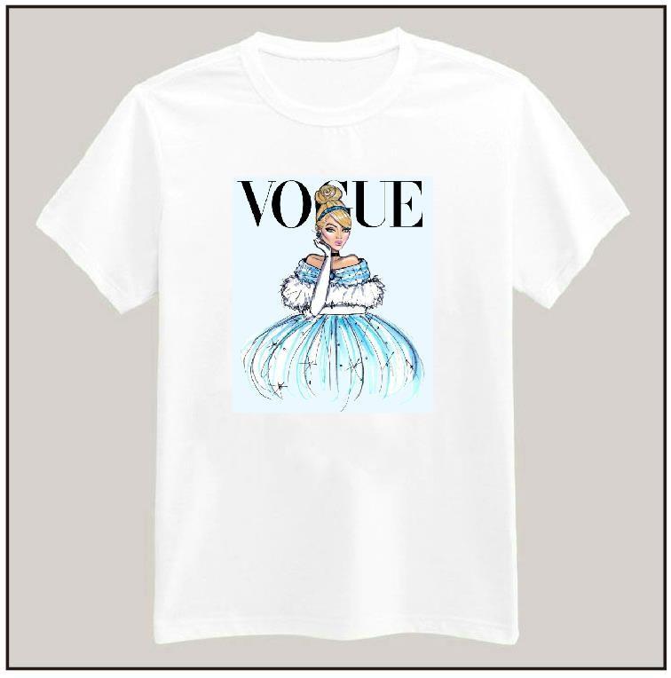 HTB1EqSPHpXXXXakXFXXq6xXFXXXn - Tattoo Vogue Princess Women T shirt PTC 17
