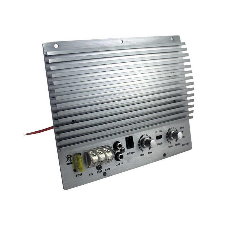 Высокая-Мощность 12 В 1000 Вт сабвуфер усилитель доска активный моно автомобильный усилитель чистый бас