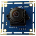 2.0 megapixel 1080p 1/2.7'' CMOS OV2710 android micro mini usb camera with 180 degree fisheye lens ELP-USBFHD01M-L180