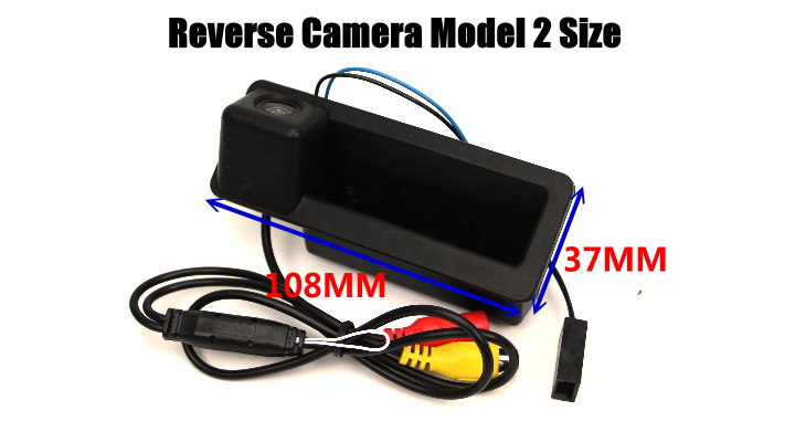 For BMW X4 F26 2010~2012 CIC System Reversing Module + Rear Camera 1008 size