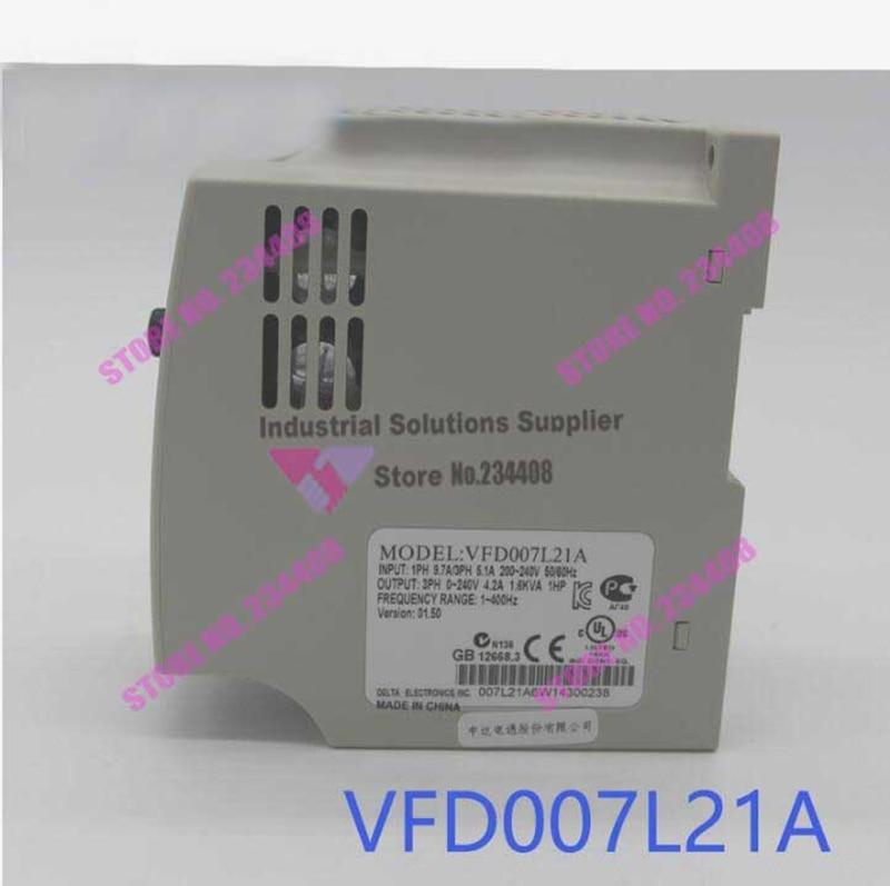 все цены на VFD007L21A Delta Inverter VFD-L Series 1Phase 220V 0.75kW 1HP 1~400Hz New Original онлайн