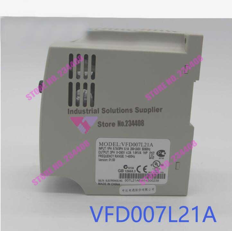 VFD007L21A Inverter VFD-L Series 1Phase 220V 0.75kW 1HP 1~400Hz New Original стоимость