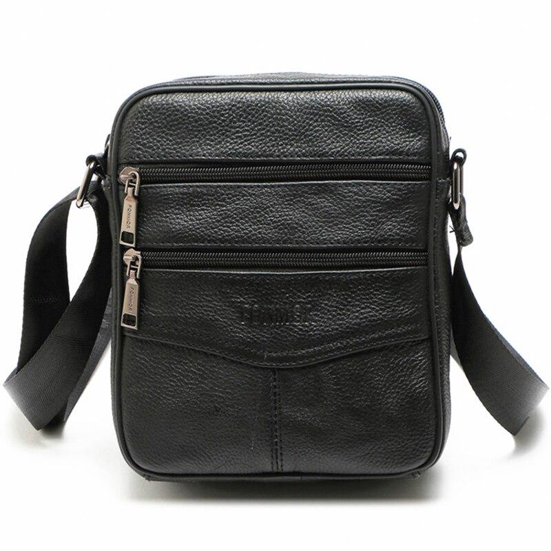 6d7f6973fe3b Мода натуральной кожи Для мужчин сумка высокого качества мужской  натуральная кожа Сумки для путешествий Crossbody сумки