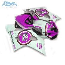 Verkleidungen für SUZUKI GSXR 600 750 2004 2005 sport verkleidung kits 04 05 GSXR750 GSXR 600 K4 K5 lila lucky Strike