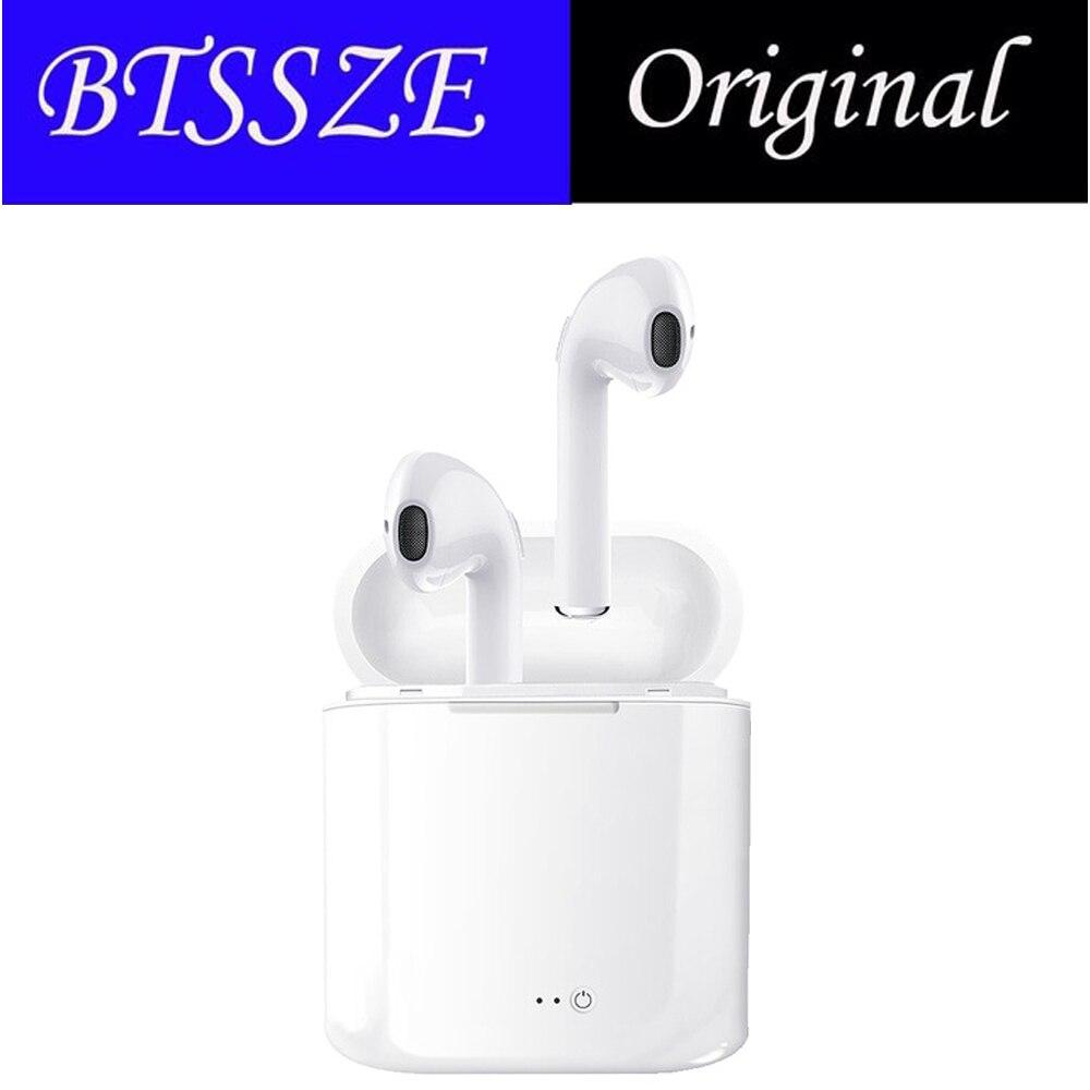 Originale i7s TWS Auricolare Bluetooth Auricolare Auricolari Senza Fili libre Con Microfono Stereo Portatile Auricolare Per android per iphone