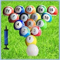 In stock 7 inch Giant Snookball, Billiard  Soccer Ball for Snookball Table ,16 pcs 3# Snooker  Ball,Good Quality Fast Delivery