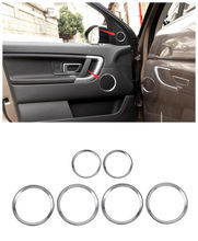 6 pcs font b Interior b font font b Car b font Door Stereo Speaker Ring