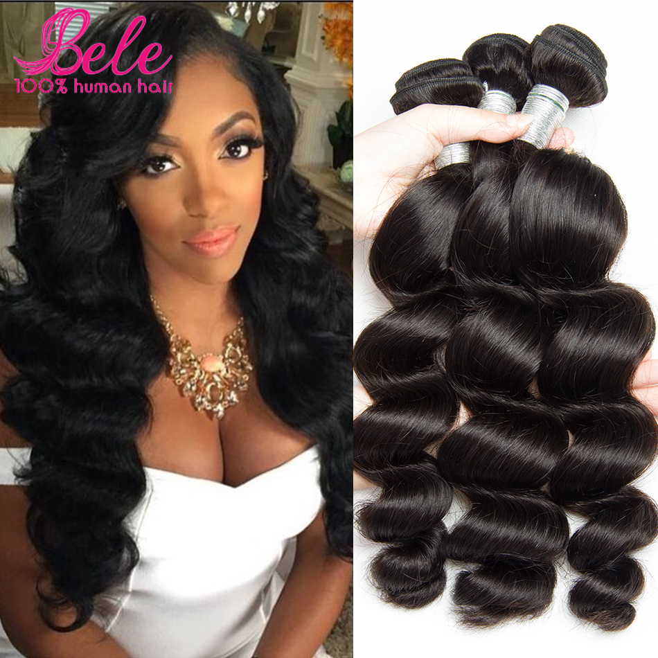 loose wave virgin hair 2 bundles malaysian virgin hair loose wave