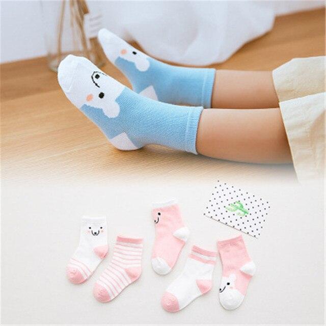 2018 new style children socks cotton children socks autumn  winter lovely baby socks WZ11