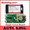Limitada Venda Big + DHL Free ship! única placa verde Multidiag pro + versão sem Bluetooth cdp pro obd2 para carros e caminhões