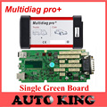 Limited Big Sale+DHL Free ship! single green board Multidiag pro+ without Bluetooth version cdp pro obd2  for cars and trucks