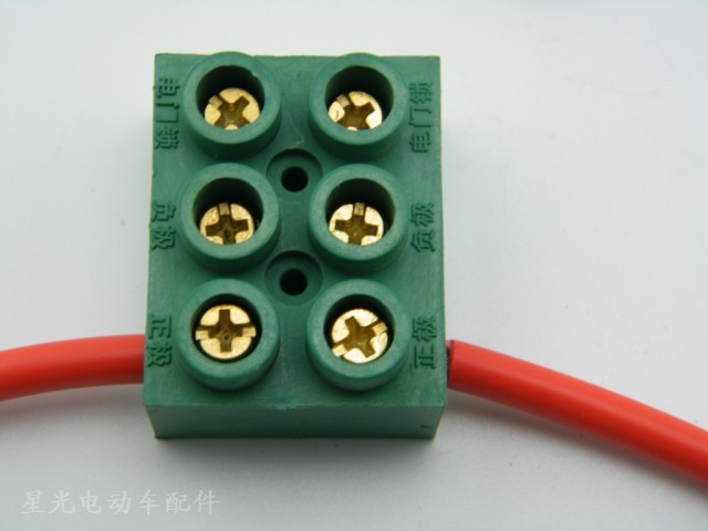 Electric vehicle accessories motor controller 2 wire junction box ...