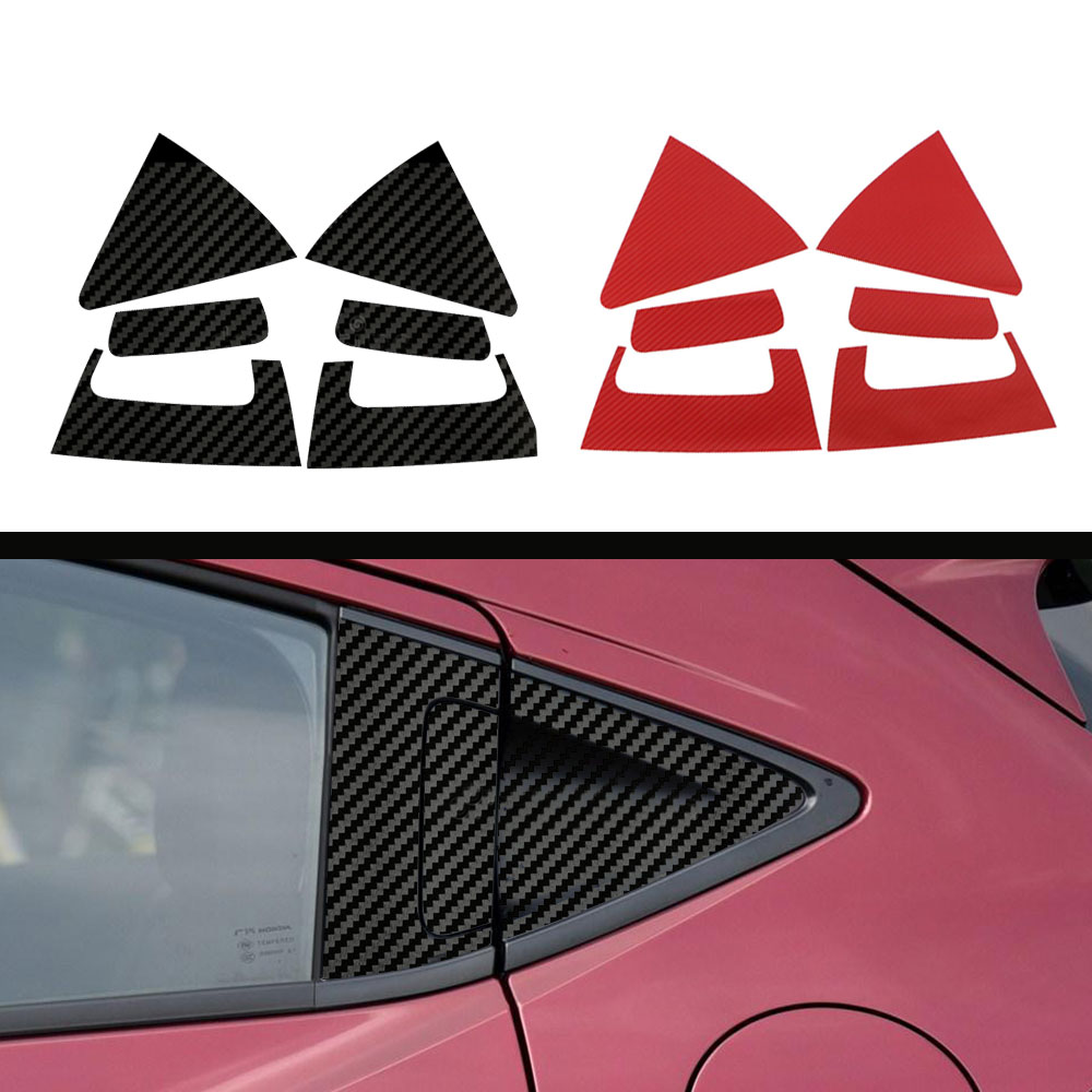 Car stickers car accessories carbon fiber door handle cup bowl protective cover stickers trim fit for honda xrv vezel