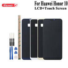 Alesser Per Huawei Honor 10 Display LCD e di Tocco Assemblea di Schermo Parti di Riparazione Con Strumenti E Adesivo Per Huawei Honor 10 del telefono