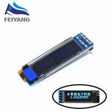A10 1pcs SAMIORE ROBOT 0 91 inch OLED module 0 91 blue OLED 128X32 OLED LCD