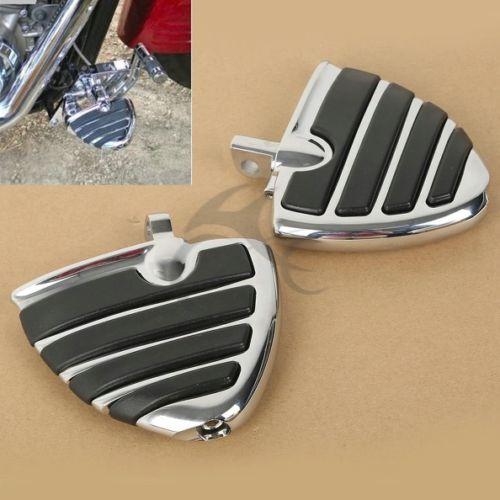 Мотоцикл крыло подножки опоры для ног педали для Harley-Davidson Dyna универсал мужской держатель Шпенька Electra Glide Softail FLS FXCW FLSS FLHS