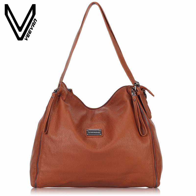VEEVANV Fashion Designer Women Shoulder Bag Office Lady Tote Handbag High Qulity Leather Handbag Vintage Messenger Bag Crossbody women genuine leather handbag fashion trend shoulder bag office lady tot high quality designer luxury brand boston crossbody bag