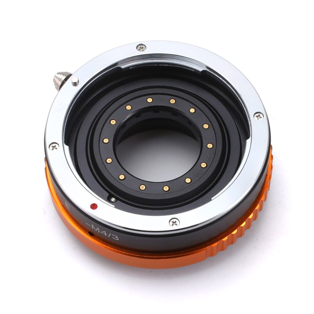 BGNING Camera Lens Adapter Ring with Aperture Parts for Canon EOS EF Lens to Micro 4/3 M4/3 Mount Adapter for Olympus Panasonic недорго, оригинальная цена