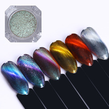 NICOLE DIARY 3D Cat Eye Magnetic Nail Powder Mirror Pearl Paillette Manicure Nail Art Pigment Dust 1g