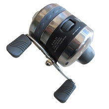 Moulinets de pêche pour tir à la fronde utilisation de poisson fléchette en acier inoxydable roue de pêche fermée chasse en plein air